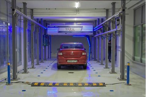 Многоуровневая парковка Казань